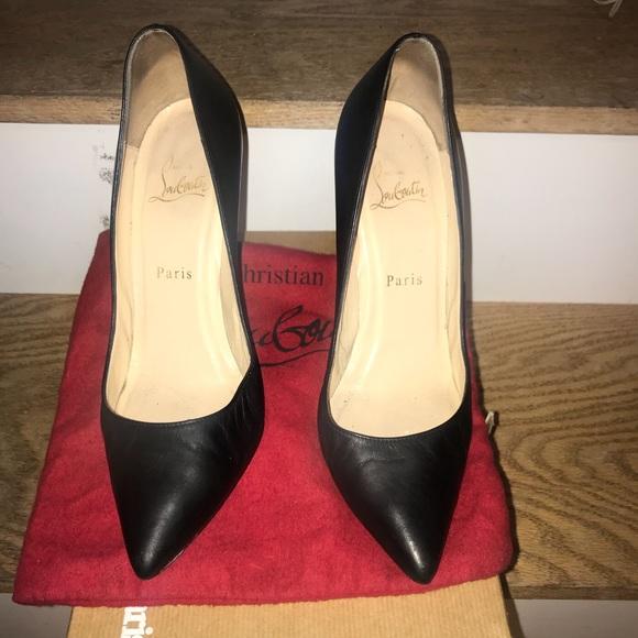 fdad6ba0d88 Classic black Louboutin Pigalle 100 stilettos
